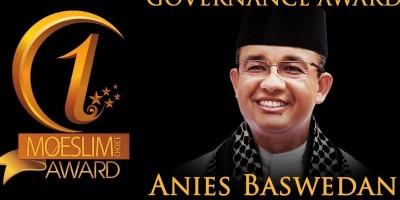 GOVERNANCE AWARD: Gubernur DKI Jakarta, Anies Baswedan