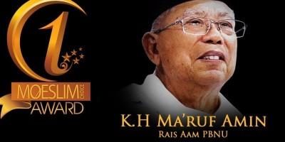 INSPIRATION AWARD: Rais Aam PBNU, Kiai Haji Ma'ruf Amin