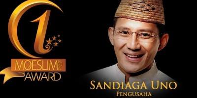 INSPIRATION AWARD: Pengusaha, Sandiaga Salahuddin Uno