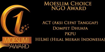 NGO AWARD: ACT, HILMI, Dompet Dhuafa dan PKPU