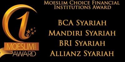 FINANCIAL INSTITUTIONS AWARD: BCA Syariah, Mandiri Syariah, BRI Syariah dan Allianz Syariah