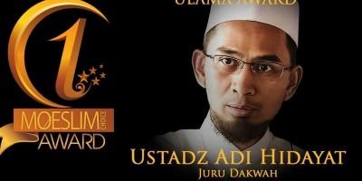 ULAMA AWARD: Ustadz Adi Hidayat