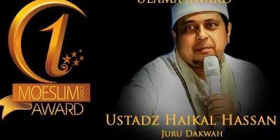 ULAMA AWARD: Ustadz Haikal Hasan