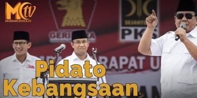 Pidato Kebangsaan Prabowo