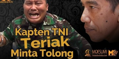 Viral! Kapten TNI Teriak Minta Tolong