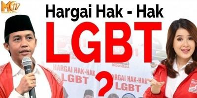 Spanduk PSI Dukung LGBT Dibongkar