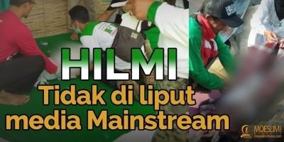 Aksi kemanusiaan HILMI yang luput dari media Mainstream