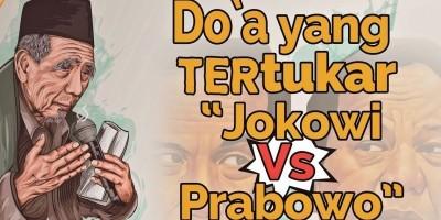 Doa Yang Tertukar Jokowi VS Prabowo