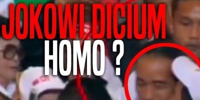 Jokowi dicium Homo ?