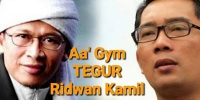 Aa' Gym Tegur Ridwan Kamil