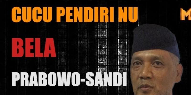 CUCU PENDIRI NU BELA PRABOWO SANDI