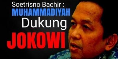 Muhammadiyah Dukung Jokowi