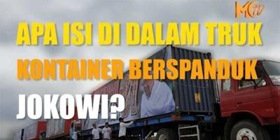 Kointainer Jokowi Isinya Apa Ya ?
