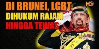 DI BRUNEI, LGBT DIHUKUM RAJAM HINGGA TEWAS