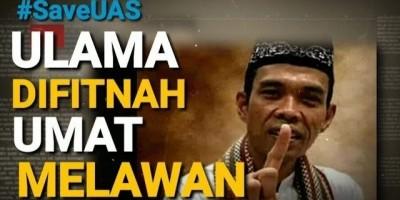 ULAMA DIFITNAH UMAT MELAWAN