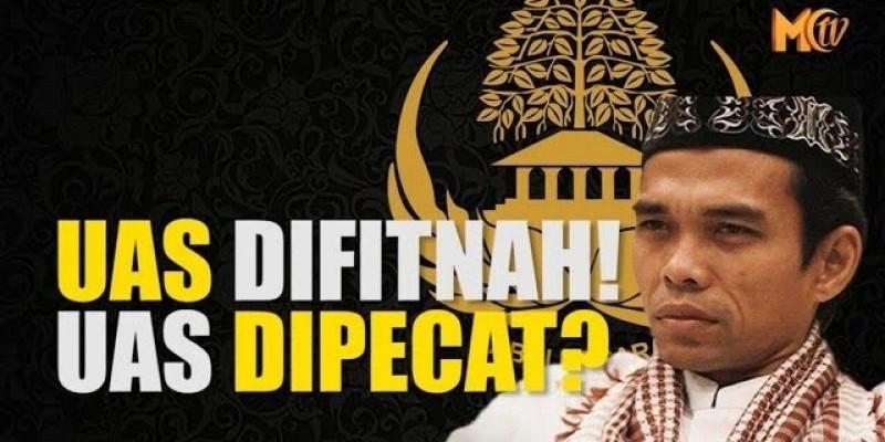 UAS DIFITNAH! UAS DIPECAT ?