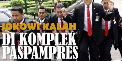 JOKOWI KALAH DI KOMPLEK PASPAMPRES