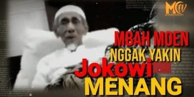 Mbah Moen Nggak Yakin Jokowi Menang