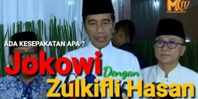 Jokowi Buka Puasa di Rumah Zulkifli Hasan. Ada Kesepakatan Apa Ya?