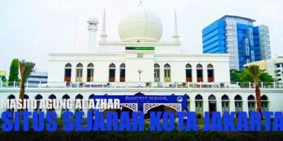 Masjid Agung Al Azhar, Situs Sejarah Kota Jakarta