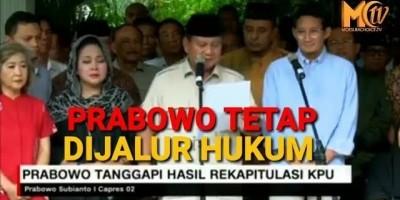 Prabowo: Hak Rakyat Dirampas