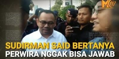 Ikut Demo Sudirman Said Dihadang Perwira