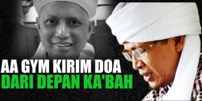 Ustadz Arifin Ilham Kritis, Aa Gym Kirim Doa Dari Depan Ka'bah