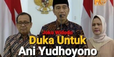 Jokowi : Duka Untuk Ani Yudhoyono