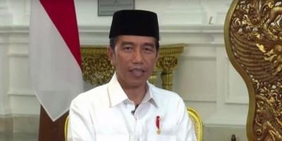 Jokowi : Mohon Maaf Lahir Bathin