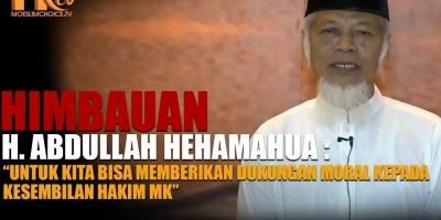 H. Abdullah Hehamahua, Kawal Sidang MK