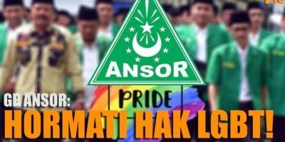 GP ANSOR: HORMATI HAK LGBT!