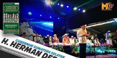 H. Herman Deru : Rakyat Sumsel Cinta Agama Dan CInta Allah SWT