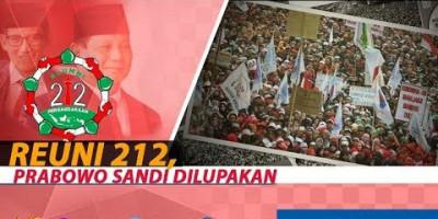 REUNI 212, PRABOWO SANDI DILUPAKAN