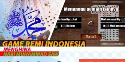 GAME REMI INDONESIA MENGHINA NABI MUHAMMAD ﷺ