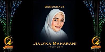 DEMOCRACY AWARD: ANGGOTA DPD RI, JIALYKA MAHARANI
