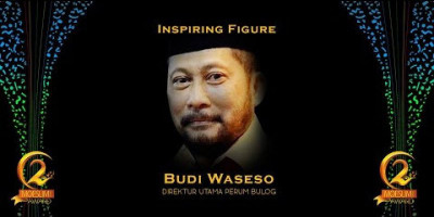 INPIRING FIGURE: DIRUT PERUM BULOG, BUDI WASESO