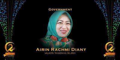 GOVERNMENT AWARD: WALIKOTA TANGERANG SELATAN, AIRIN RACHMI