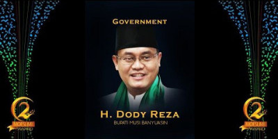 GOVERNMENT AWARD: BUPATI MUSI BANYUASIN, DODI REZA