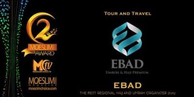 EBAD TOUR AND TRAVEL: TAK SEKEDAR PENGHARGAAN, MOESLIM CHOICE AWARD JUGA MENGEDUKASI