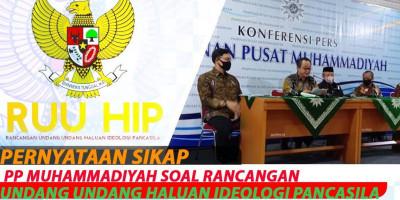 Pernyataan Sikap PP Muhammadiyah Soal Rancangan Undang Undang Haluan Ideologi Pancasila