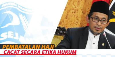 Pembatalan Haji Cacat Secara Etika Hukum
