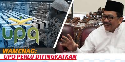 Wamenag: UPQ Perlu Ditingkatkan