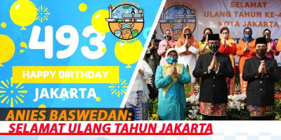 Anies Baswedan: Selamat Ulang Tahun Jakarta