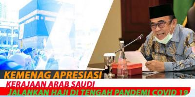 Kemenag Apresiasi Kerajaan Arab Saudi Jalankan Haji Di Tengah Pandemi Covid 19