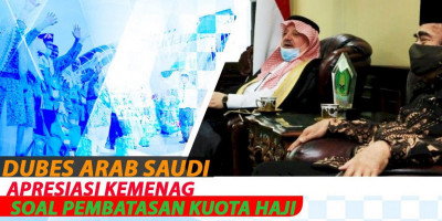Dubes Arab Saudi Apresiasi Kemenag Soal Pembatasan Kuota Haji
