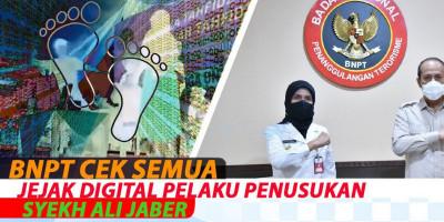 BNPT Cek Semua Jejak Digital Pelaku Penusukan Syekh Ali Jaber