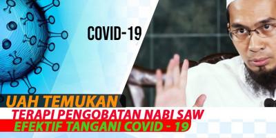 UAH Temukan Terapi Pengobatan Rasulullah ﷺ  Efektif Tangani Covid - 19