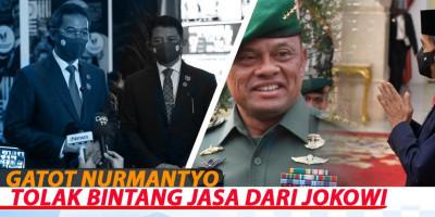 GATOT NURMANTYO TOLAK BINTANG JASA DARI JOKOWI