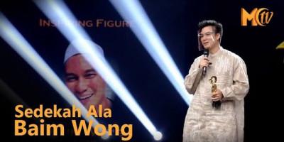 Sedakah Ala Baim Wong