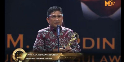 H. Nurdin Abdullah: Moeslim Choice Award 2020